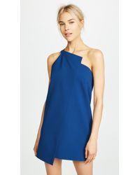 Michelle Mason - One Shoulder Shift Dress - Lyst
