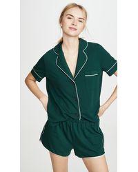 Madewell Milo Sleep Shirt - Green