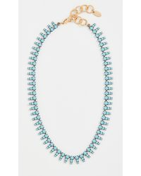 Elizabeth Cole Izara Necklace - Blue