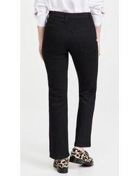 Khaite Vivian New Bootcut Flare Jeans - Black