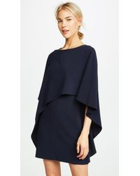 Halston - Draped Dress - Lyst
