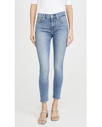 7 For All Mankind Ankle Skinny Jeans - Blue
