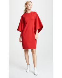 Rhié - Draped Sleeve Dress - Lyst