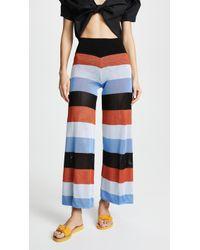 Pepa Pombo - Nancy Striped Trousers - Lyst