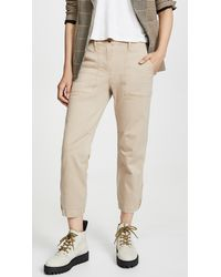 10 Crosby Derek Lam Utility Trousers - Natural