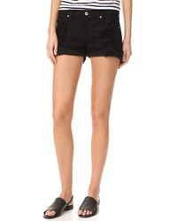 James Jeans - Slouchy Fit Boy Shorts - Lyst