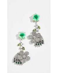 DANNIJO - Begonia Earrings - Lyst
