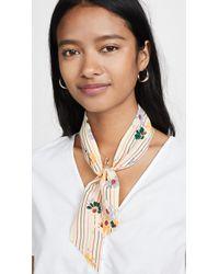 Madewell Silk Skinny Bandana - Multicolor