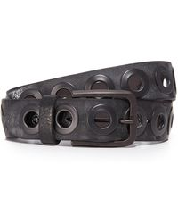 B. Belt - Gunmetal Ring Belt - Lyst