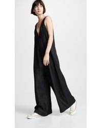 The Upside Zen Linen Jumpsuit - Black