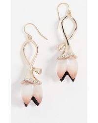 Alexis Bittar - Lucite Abstract Tulip Wire Earrings - Lyst