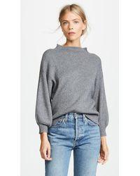Line & Dot Alder Sweater - Grey