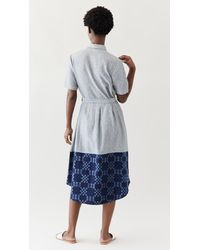 ABACAXI - Mixed Shirtdress - Lyst