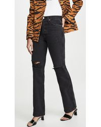 RE/DONE High-rise Loose Jeans - Black