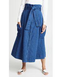 WHIT - Pocket Skirt - Lyst