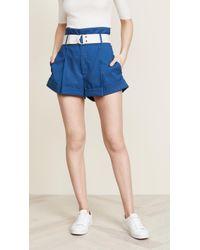 Sea - Poppy High Waisted Shorts - Lyst