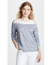 Generation Love - Roni Double Layered Sweatshirt - Lyst