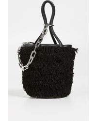 Alexander Wang - Roxy Fringe Mini Bucket - Lyst