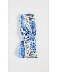 Camilla Wrap Headband - Blue