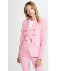 Veronica Beard Miller Dickey Jacket - Pink