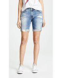 AG Jeans The Nikki Shorts - Blue