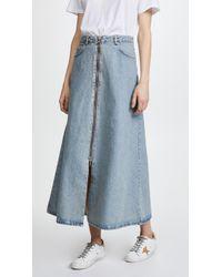 Won Hundred - Elna Denim Skirt - Lyst