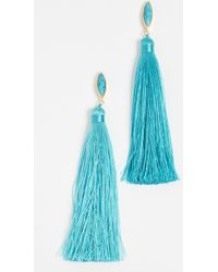 Gorjana - Palisades Tassel Earrings - Lyst