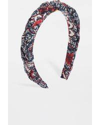Madewell Puffy Braided Headband - Multicolour