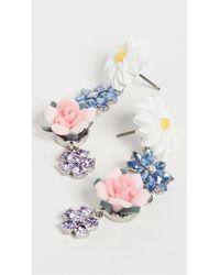 For Love & Lemons Hollyhock Drop Earrings - Multicolor