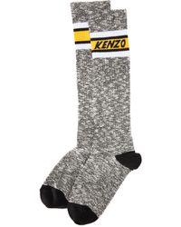 KENZO - High Stripy Socks - Lyst