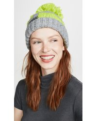 09bf5110a Eugenia Kim Lula Wool Headband in Green - Lyst