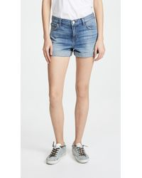J Brand - Johnny Mid Rise Shorts - Lyst