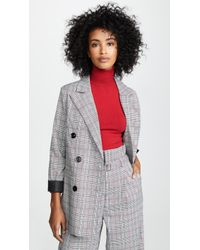 English Factory - Double Breasted Jacket - Lyst