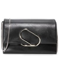3.1 Phillip Lim Alix Flap Shoulder Bag - Black