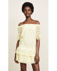 Temptation Positano - Off Shoulder Dropwaist Dress - Lyst