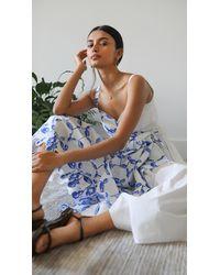 Rosie Assoulin That's A Wrap Dress - Blue