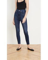 GOOD AMERICAN Good Curve Skinny Jeans - Blue