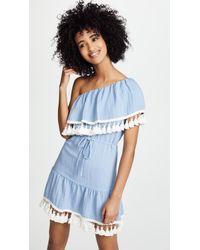 Suboo - Playa One Shoulder Frill Dress - Lyst