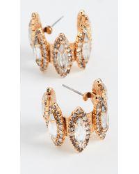 Elizabeth Cole Paulette Earrings - Metallic
