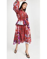 Preen By Thornton Bregazzi Dorchen Dress - Red