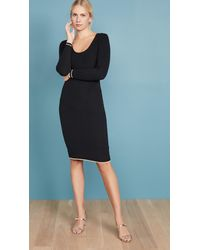 Cupcakes And Cashmere Claudia Jumper Dress - Black