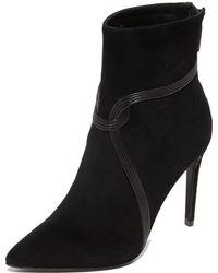 Rachel Zoe - Liana High Heel Pointed Toe Booties - Lyst