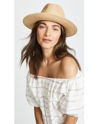 Hat Attack Panama Continental Hat - Multicolour