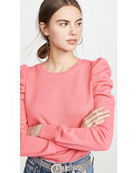 Rebecca Minkoff Janine Sweatshirt - Pink