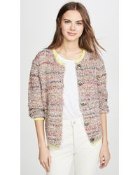 Free People Walk On By Cardigan - Multicolour