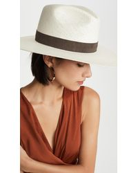 Janessa Leone Packable Marcell Short Brimmed Fedora - Multicolour