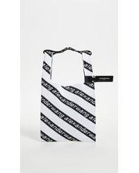 Alexander Wang Knit Medium Shopper Bag - Black