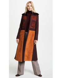 Anya Hindmarch - Long '70s Coat - Lyst