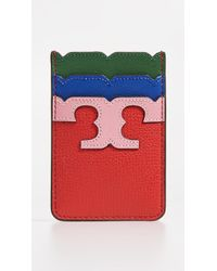 Tory Burch Kira Card Pocket - Red