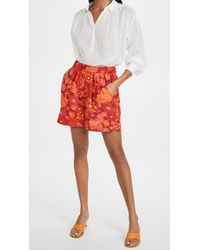 Free People Palo Duro Shorts - Red